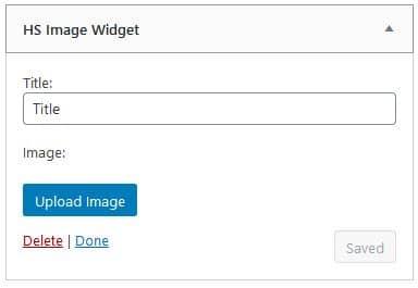 Custom WordPress Widget