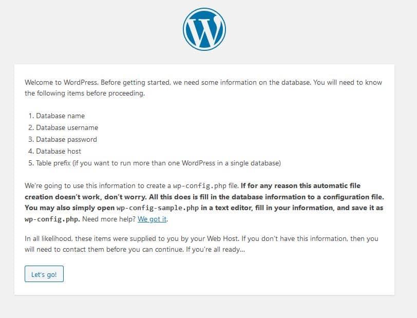 wordpress installation wordpress faq